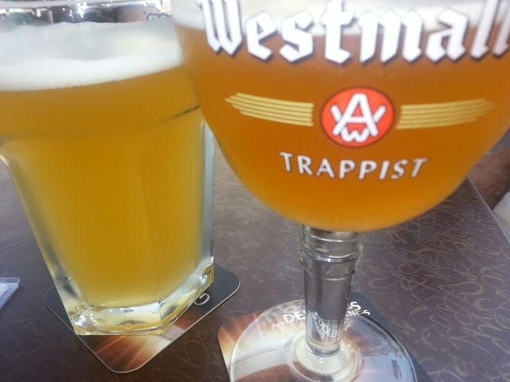 Some delicious belgian beer in Ghent