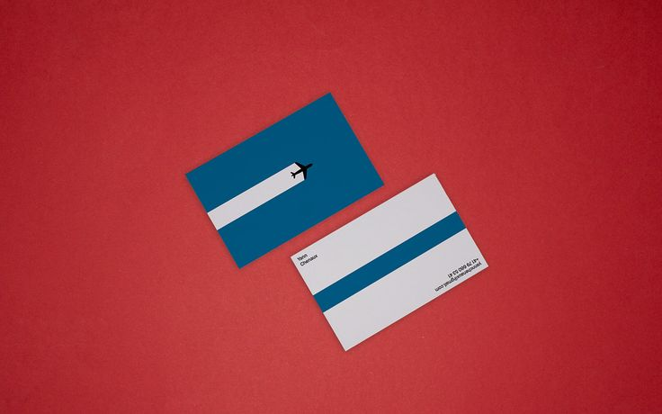 Yann Chenaux - Business cards on Behance
