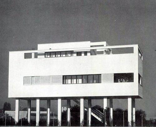 Subtilitas Luigi Figini - House in Milan, 1935. @designerwallace