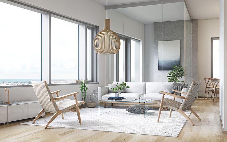 REDI Apartments - living room on Behance