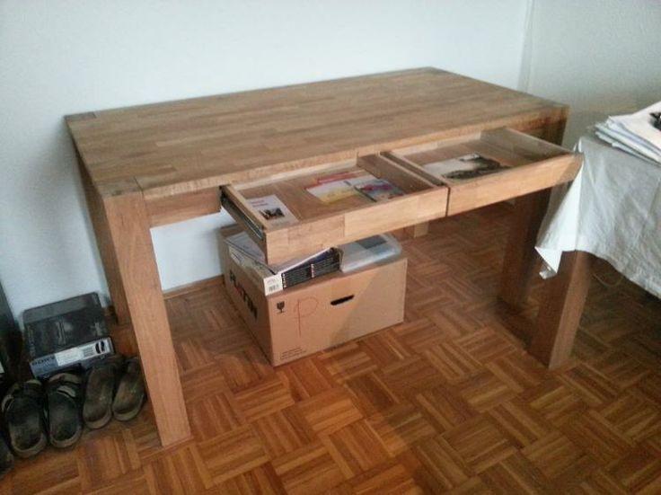 ber ideen zu schreibtisch eiche auf pinterest. Black Bedroom Furniture Sets. Home Design Ideas