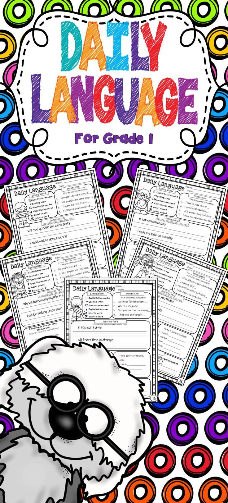 Great daily grammar practice. We all love it! The students love the challenge and I love seeing them engaged.