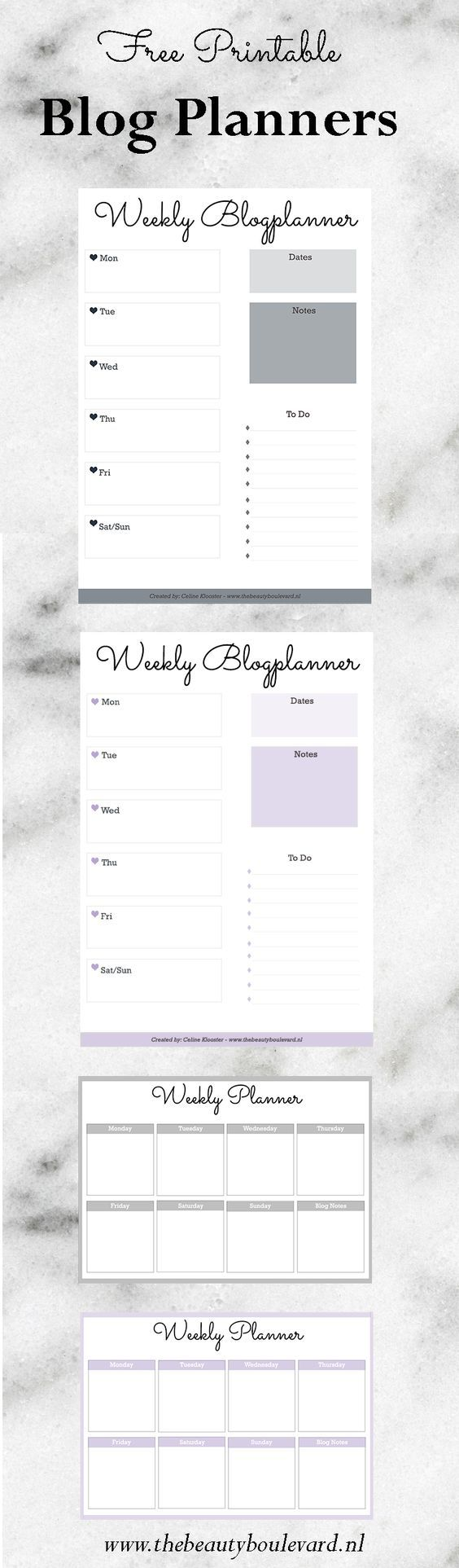 how to increase your blog traffic with planning free printable