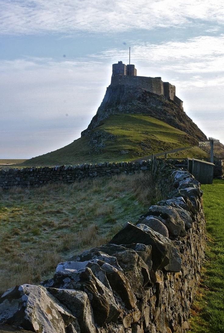 Holy Island Castle - Lindisfarne - Northumberland, England - D. Bryant