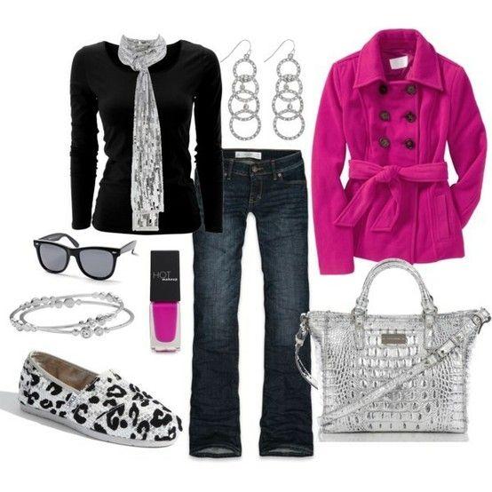 Minus the pink coat