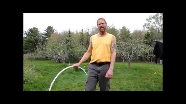 Vertical shoulder hooping tutorial