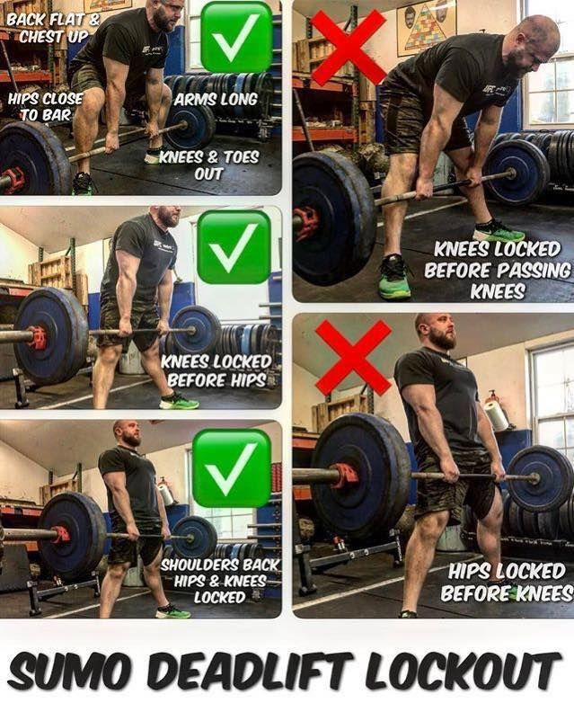Sumo Deadlift With Correct Form Get It Right Sumo Deadlifts Are A Tough But Very Effective Workout Routin Deadlift Effective Workout Routines Workout Routine