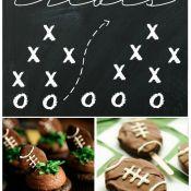 50 Deliciously Sweet Football Treats | www.somethingswanky.com