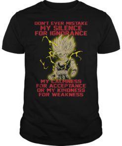 best dragon ball z shirts