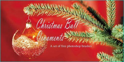 15 Free Photoshop Brushes For Christmas Season