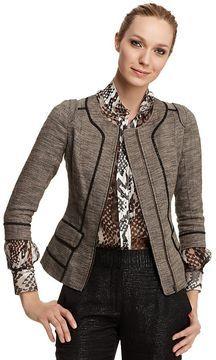 shopstyle.com: Rachel Roy Signature Novelty Tweed Structured Jacket