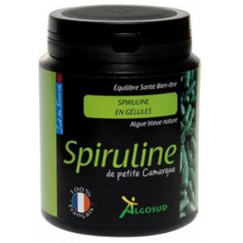 Spiruline ALGOSUD, fabriquée dans le sud de la france, faites le plein de fer, notamment !