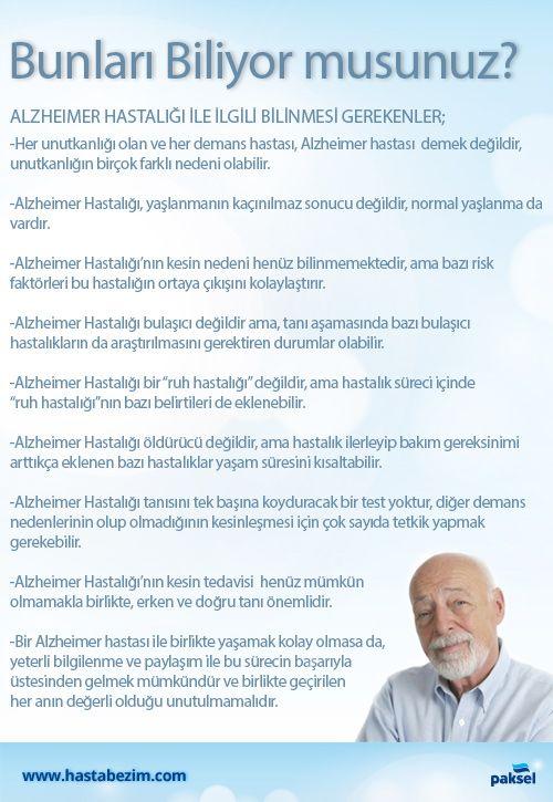 Birlikte geçirdiğiniz her anın değerli olduğu unutmayın.   Bir #Alzheimer hastası ile birlikte yaşamak kolay değildir ancak yeterli bilgilenme ve paylaşım ile bu sürecin başarıyla üstesinden gelmeniz mümkün. #hastabakımı #hastabezim #hastabezi #demans #aile #bakım   www.hastabezim.com