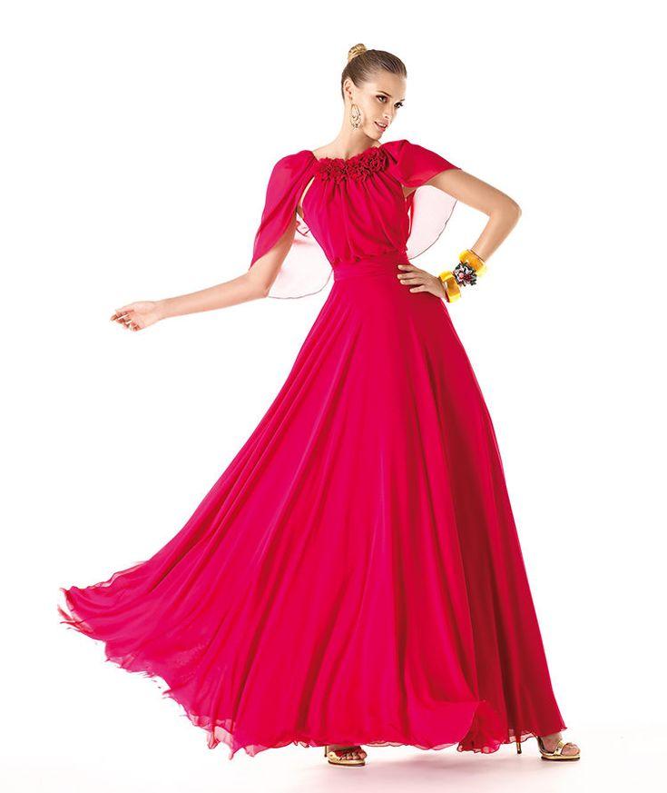Pronovias te presenta su vestido de fiesta Rosabelle de la colección Madrina 2014. | Pronovias