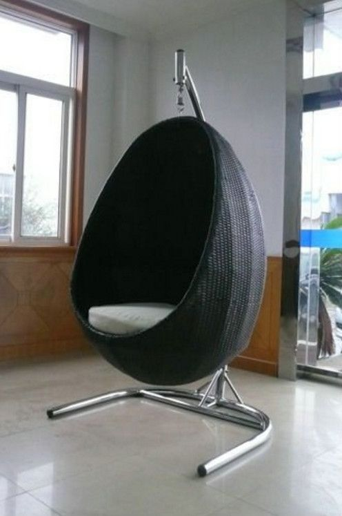 Best 25 swing chair indoor ideas on pinterest indoor - Indoor hanging egg chair for bedroom ...