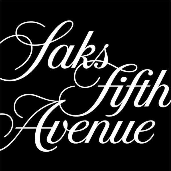 Saks Fifth Avenue ❤ liked on Polyvore featuring logo, phrase, quotes, saying and text