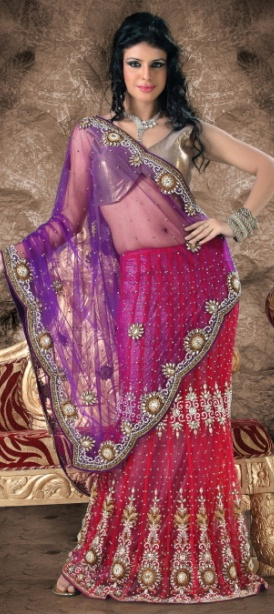 Check it out this awesome one...superb designs and elegant look...  You can buy this at-> http://www.indianweddingsaree.com/product/78724.html