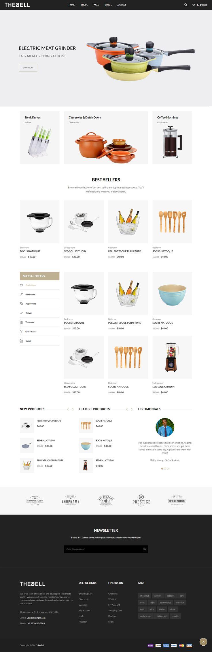 Multipurpose Bootstrap 4 HTML Website Template