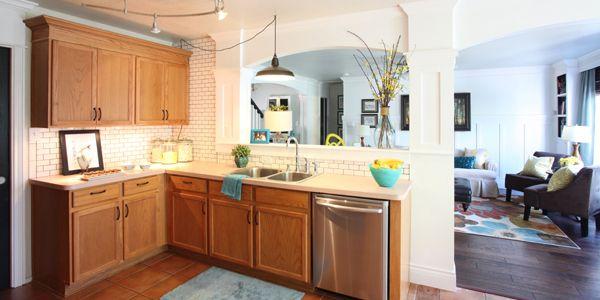 Great ideas to update oak kitchen cabinets kitchen for Update white kitchen cabinets