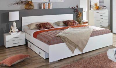 Bett 160 x 200 cm mit Nakos und Kommode Jetzt bestellen unter: https://moebel.ladendirekt.de/wohnzimmer/schraenke/kommoden/?uid=f2594683-6fbf-5811-9425-486a5a6d6a47&utm_source=pinterest&utm_medium=pin&utm_campaign=boards #schraenke #kommoden #wohnzimmer