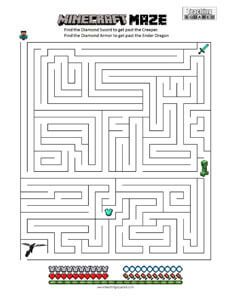 Minecraft Maze Adventure Teaching Squared Minecraft