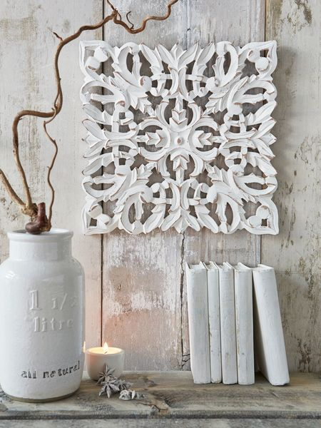Pier One White Carved Wall Decor : The best ideas about carved wood wall art on