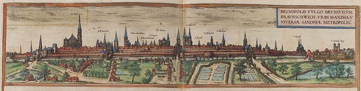 Braunschweig map