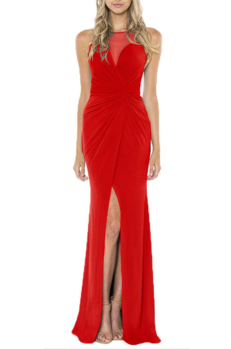 Bariano - Dandilion Red Formal Dress