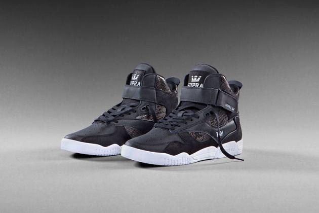 SUPRA Bleeker Sneaker-Black