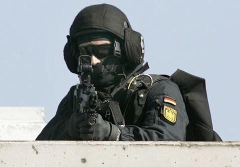 """German Special Police Unit """"GSG-9"""""""