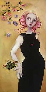 Theodosia - Cassandra Christensen Barney - World-Wide-Art.com - $495.00 #CassandraBarney