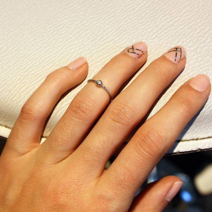 Кольца на фалангу - модный тренд этого сезона. Скромное, но в то же время стильное колечко станет Вашим индивидуальным акцентом в любом образе. #zlato_ua #jewelry #silver #украшения #ring #кольцо
