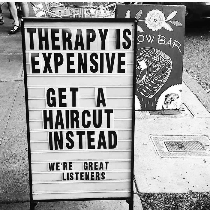 242 Hilarious Memes That Will Make You Feel Bad For Your Hairstylist Hairdresser Salon Barber Shop Decor Hair Salon Quotes