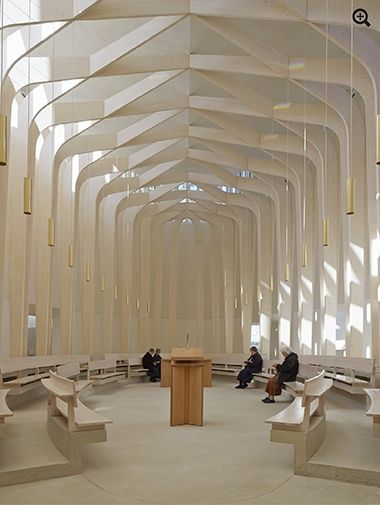 Bishop Edward King Chapel, Oxford by Niall McLaughlin Architects