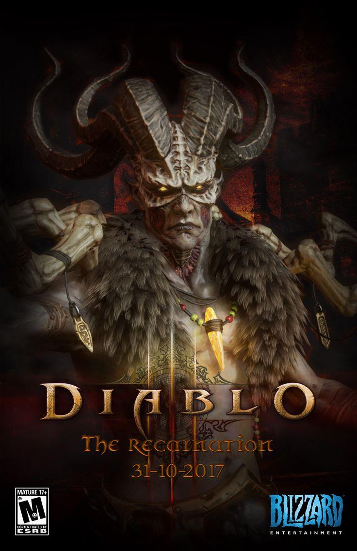 Campaña despeje de expansión ficticia del juego Diablo III
