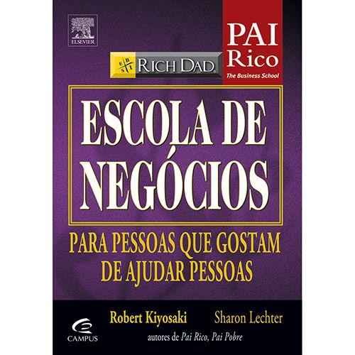 Livro - Pai Rico: Escola de Negócios