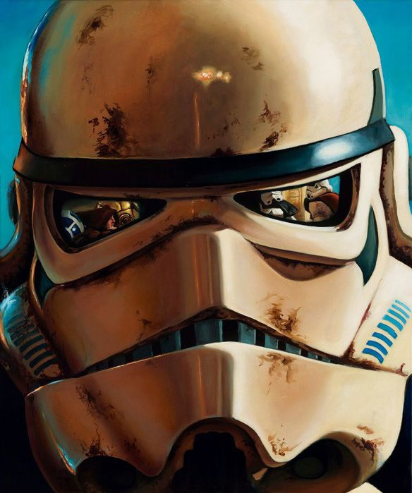 AWESOME - Star Wars Sandtrooper Limited Edition Giclée Art Print by Christian Waggoner