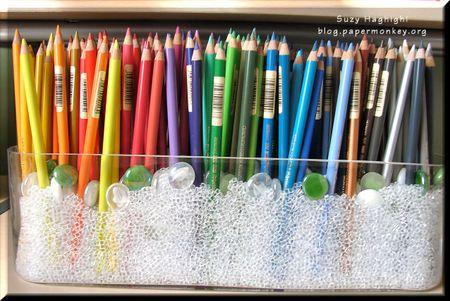 pencil garden #craftstudio-craftroomideas