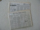 THE STOCK MARKET CRASH OF '87 - THE WALL STREET JOURNAL Oct 20, 1987, 75 pages - 1987, CRASH, JOURNAL, MARKET, Pages, Stock, Street, wall