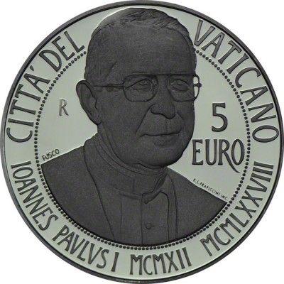 15 Euro Silber 100. Geburtstag von Papst Johannes Paul I./20. Welttag der Kranken PP