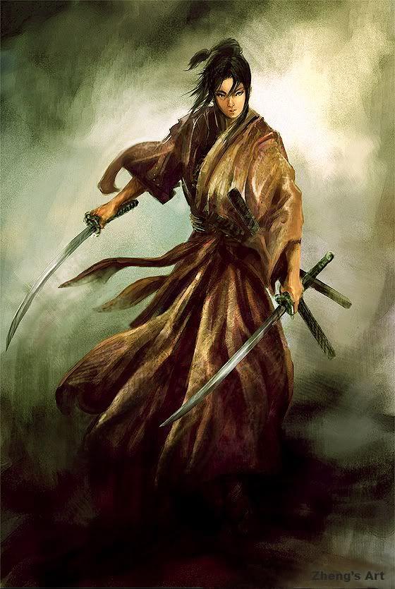 Samurai | el samurai sentado