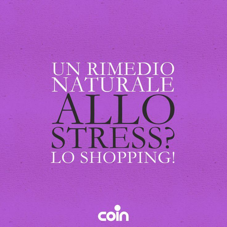 Cosa c'è di più salutare dello shopping?:)