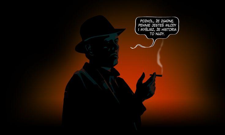 Myślisz, że historia to nuda? A czytałeś kiedyś historyczny komiks interaktywny? Gra szeptów - Komiksy interaktywne.  http://graszeptow.pl/komiksy