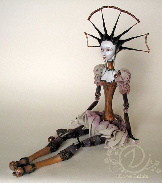 Steampunk doll by Tireless Angel