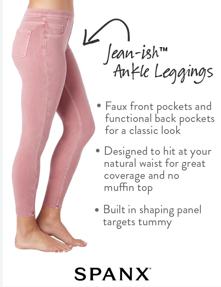 f9dae5fa8e Jeans without denim for ultimate comfort! | Jean-ish Leggings by SPANX