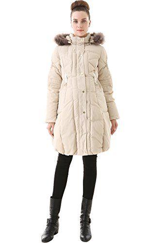 $149.00 (was $228.00) Beige Momo Maternity Winter Coat 924-148947-BEI-L Offer Date 11 30 - http://modeame.com/fashion/women/149-00-was-228-00-beige-momo-maternity-winter-coat-924-148947-bei-l-offer-date-11-30-5001