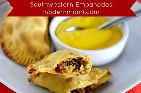 Southwestern Empanadas, Simple and Easy Appetizer Recipe