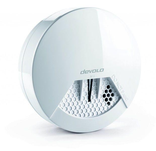Ledétecteur de fumée fait partie de la gamme des nombreux accessoires compatibles avec la box Home Control de Devolo