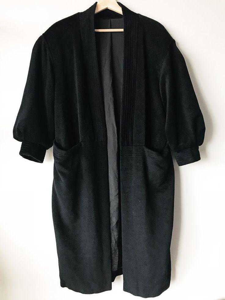 Black Robe Coat
