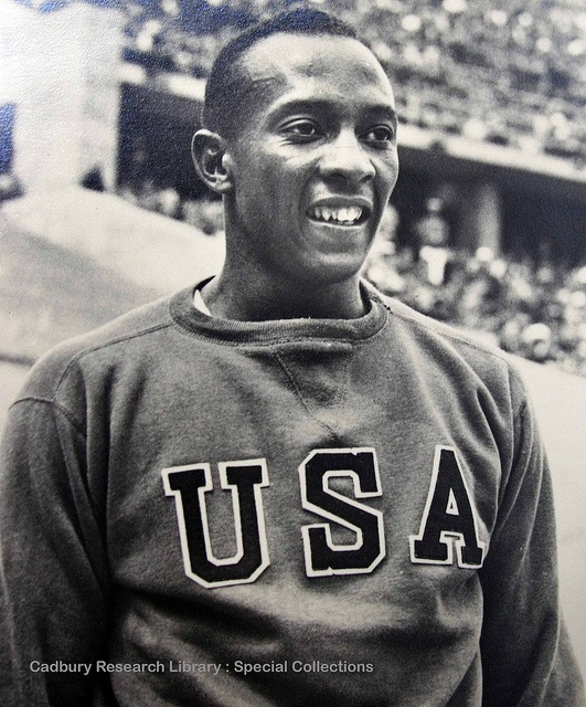 Jesse Owens | 1936 berlin olympic games jesse owens the us athlete jesse owens 1913 ...